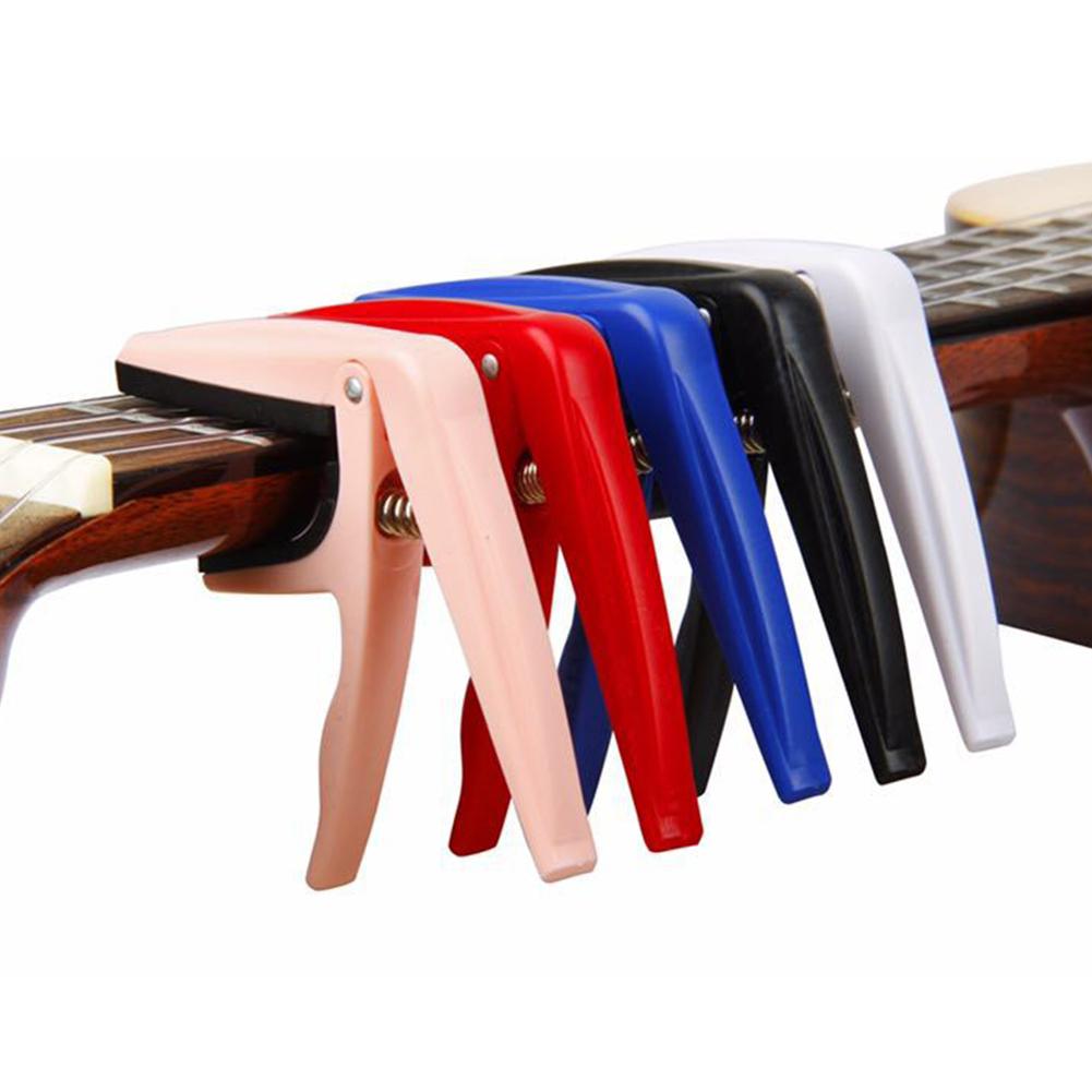 Aluminio-Guitar-Capo-Acustica-De-Cambio-Rapido-Abrazadera-clave-para-el-ajuste-de-ancho-de-tono miniatura 2